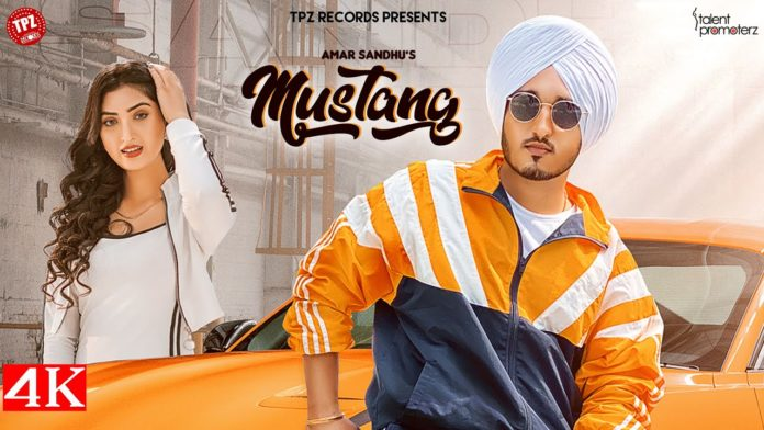 MUSTANG LYRICS - Amar Sandhu Ft. Isha Sharma