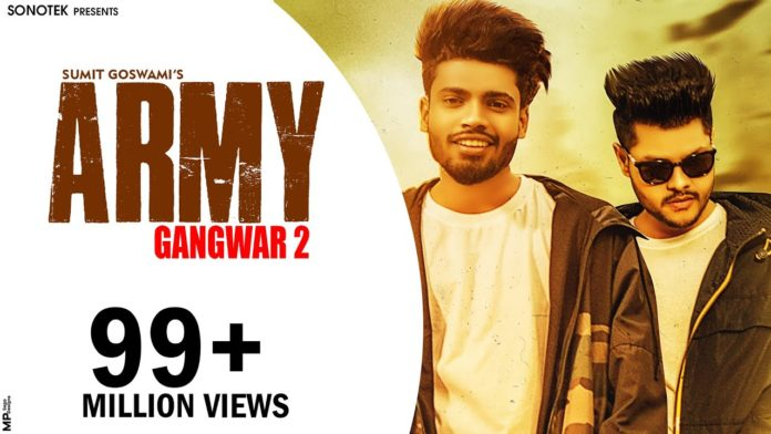ARMY LYRICS - SUMIT GOSWAMI