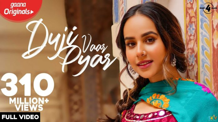 DUJI VAAR PYAR LYRICS - Sunanda Sharma